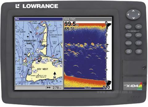 Lowrance LCX-104C