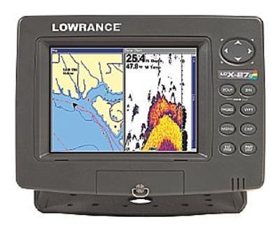 Lowrance LCX-27c