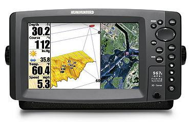 Humminbird 967cx 3D Combo