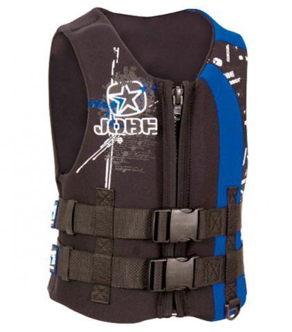 Jobe Rebel Square Youth Jacket Blue