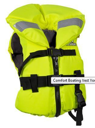 Jobe Comfort Boating Vest Youth Orange