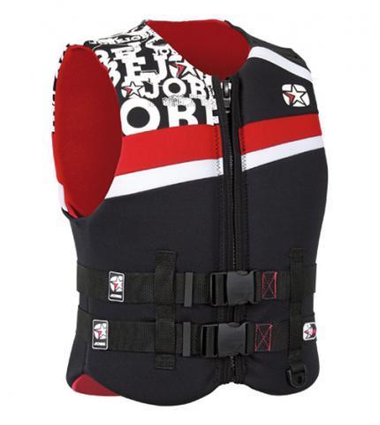 Jobe Combat Vest Red