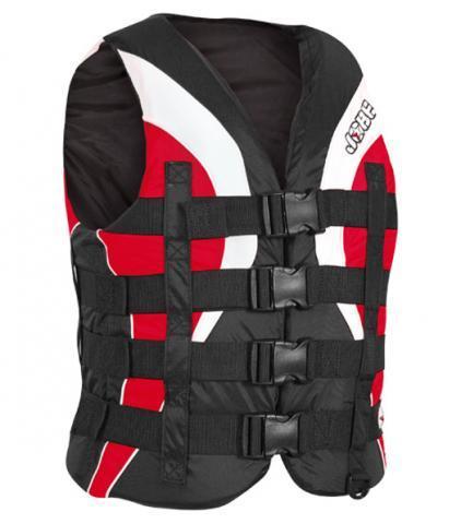 Jobe 4 Buckle Pro Vest Red