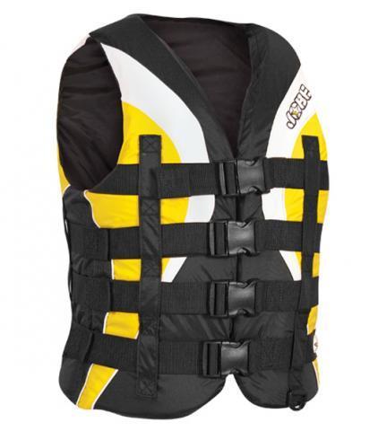 Jobe 4 Buckle Pro Vest Yellow