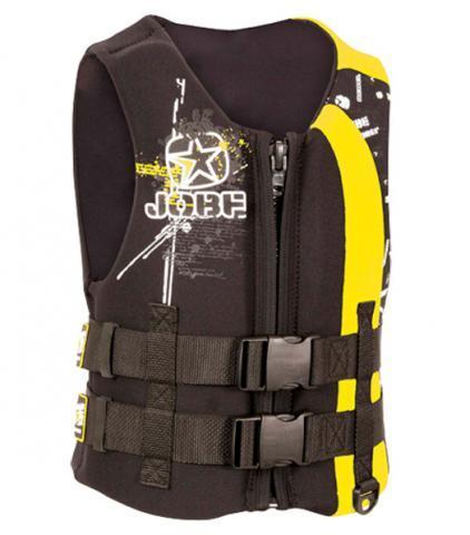 Jobe Rebel Square Youth Jacket Yellow