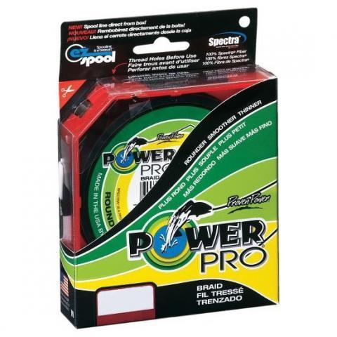 PowerPro Moss Red 135m 0.19mm 13kg