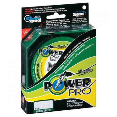 PowerPro Moss Green 135m 0.10mm 5kg