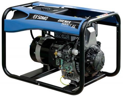 SDMO Diesel 6000 E-XL