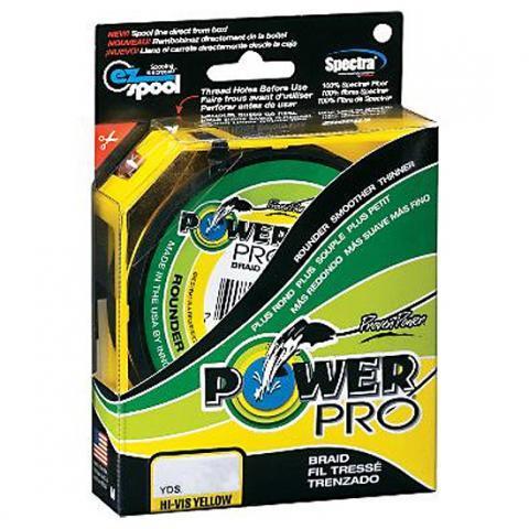 PowerPro Moss Yellow 135m 0.10mm 5kg