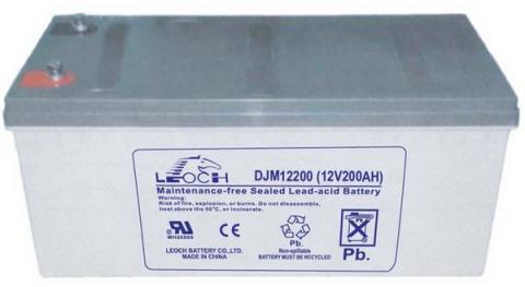 Leoch GEL 12V 200Ah (LPG12-200Ah)