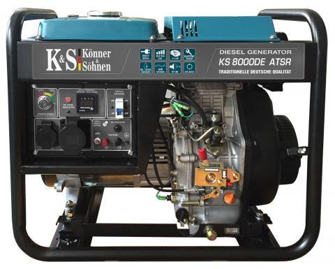 Konner&Sohnen KS 8000DE ATSR