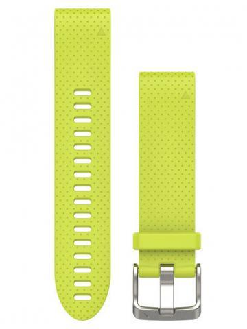 Garmin QuickFit 20 Amp Yellow Silicone Band (010-12491-13)