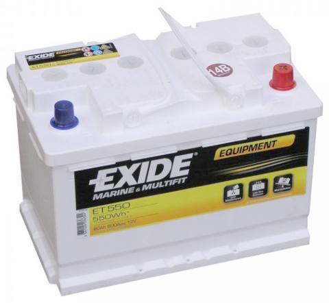 Exide ET 550