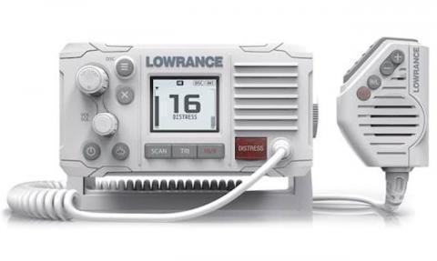 Lowrance Link-6 VHF Radio White (000-13544-001)