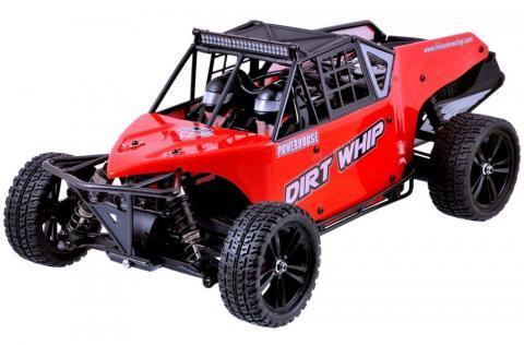 Himoto Dirt Whip Brushless 1:10 RTR Red (E10DBLr)
