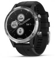 Garmin fenix 5 Plus Silver with Black Band (010-01988-11)