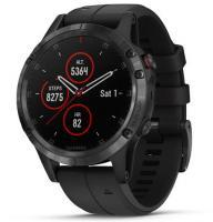 Garmin fenix 5 Plus Sapphire Black with Black Band (010-01988-01)