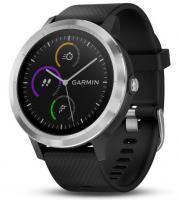 Garmin vivoactive 3 Black with Silver Hardware (010-01769-02)