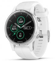 Garmin fenix 5S Plus Sapphire White with White Band (010-01987-01)