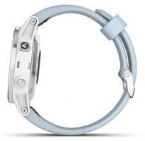 Garmin fenix 5S Plus White with Sea Foam Band (010-01987-23)