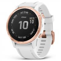 Garmin fenix 6S Pro Sapphire Rose Gold with White Band (010-02159-11)