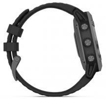 Garmin fenix 6 Pro Solar Edition Slate Gray with Black Band (010-02410-15)