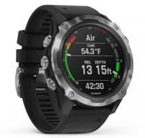 Garmin Descent Mk2 Stainless Steel with Black Band (010-02132-10) - фото 2