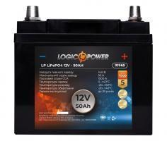 LogicPower LP LiFePO4 12V-50Ah плюс справа